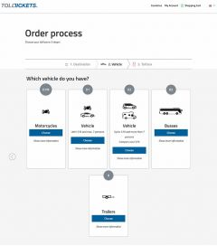 Order process Tolltickets 2018 07 01